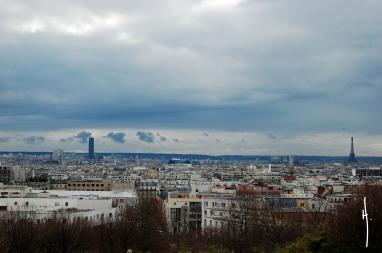 Paris.Desde Belleville
