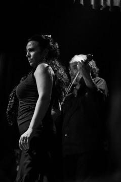 Helena Sanchez hache portrait casa patas flamenco