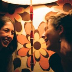 Anita e Irene. Otoño 2015