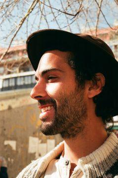 Alex en Lavapiés. Marzo 2016