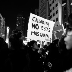 Helena Sanchez hache foto documental fotoperiodismo #8m feminismo women's march mujeres